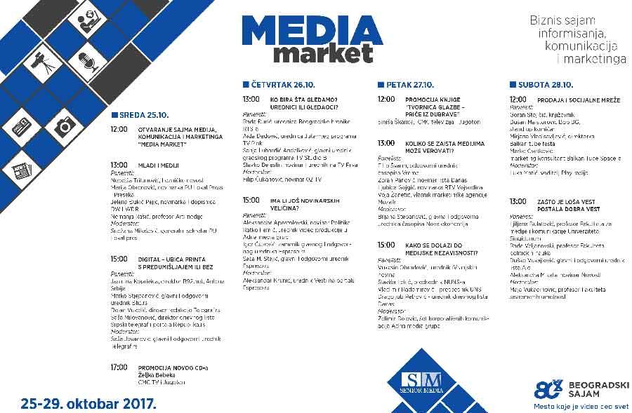 MEDIA MARKET | BIZNIS SAJAM INFORMISANJA, KOMUNIKACIJA I MARKETINGA